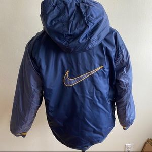 Vintage 90's Nike Reversible Quilted Jacket